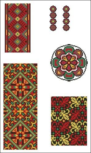 Украинские орнаменты 72