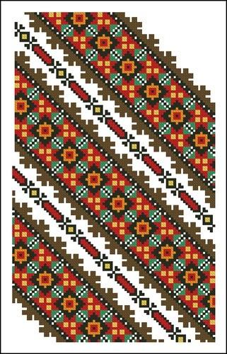 Украинские орнаменты 73