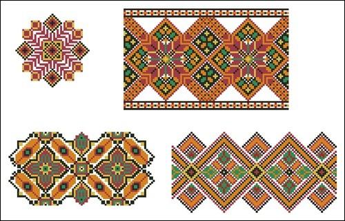 Украинские орнаменты 75
