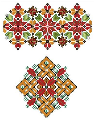 Украинские орнаменты 76