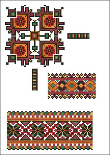 Украинские орнаменты 80