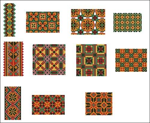 Украинские орнаменты 83