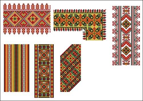 Украинские орнаменты 84