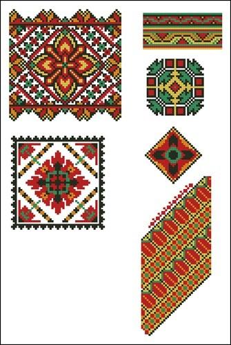 Украинские орнаменты 86