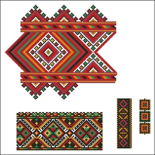 Украинские орнаменты 87