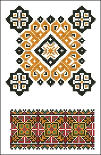 Украинские орнаменты 88