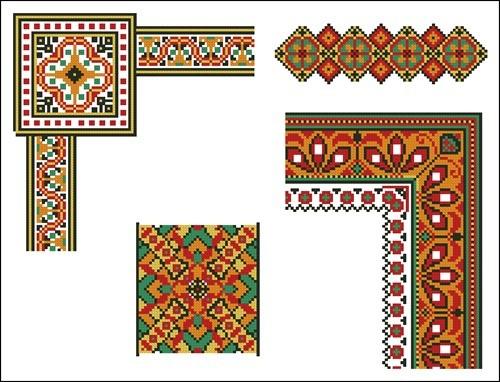 Украинские орнаменты 89