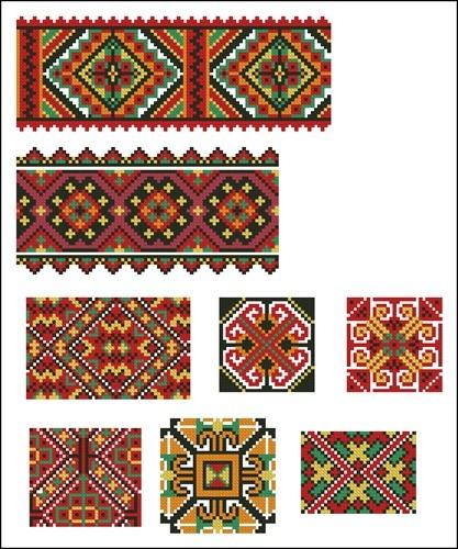 Украинские орнаменты 91
