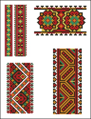 Украинские орнаменты 92
