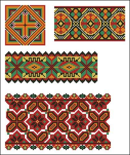 Украинские орнаменты 93