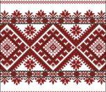 Украинский орнамент для рушника