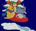 Winnie the Pooh Christmas -Stocking