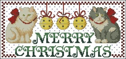 "Котики ""Merry Christmas"""