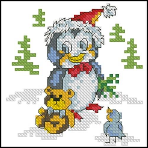New Year Penguin