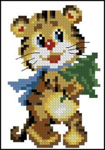 Тигрик (открытка)