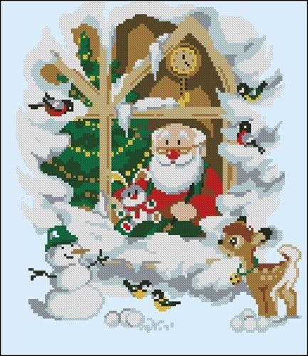 Дед Мороз и друзья
