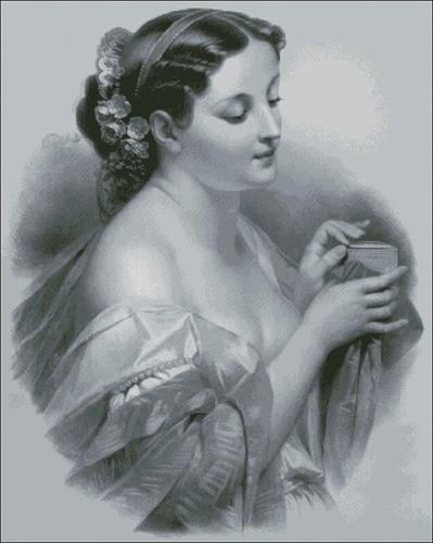 Девушка со шкатулкой