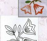 Цветочки-ягодки: 6 рисунков