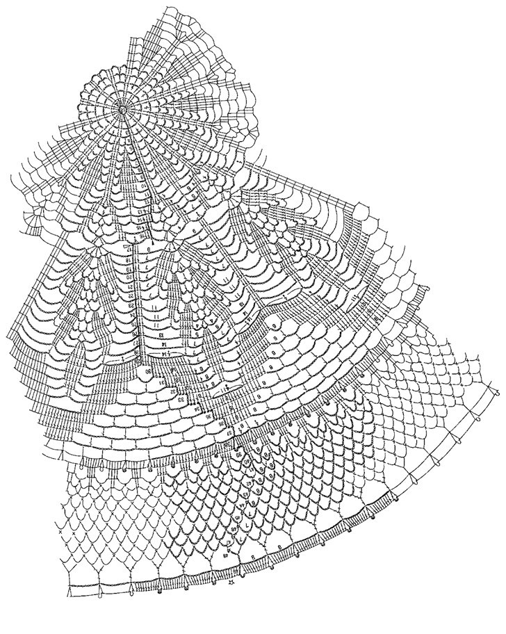 схема вязки