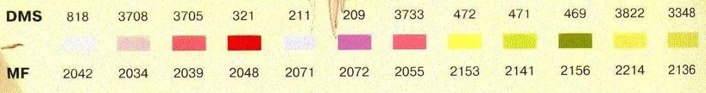 Лилейник цвета к схеме