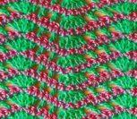 Многоцветный узор крючком №1802