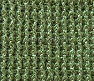 Рельефный узор крючком №1407