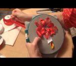 ВИДЕО УРОК: Рождественская звезда лентами