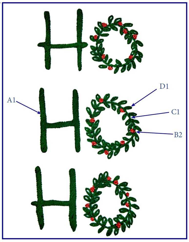 Смех Санта Клауса схема 2