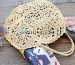 Винтажная сумка крючком