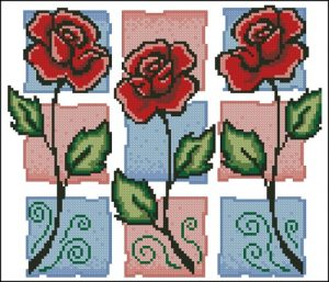 Тhree roses