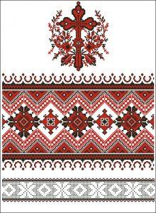 """Рушник """"Православный"""" (на икону, венчальный, свадебный)"""