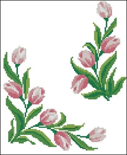 """Узор """"Тюльпаны"""""""