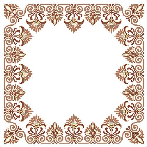 Декоративная рамка-скатерть