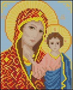 Мария с маленьким Иисусом