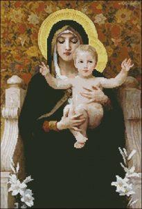 Virgin of the Lilies (Мадонна с лилиями)