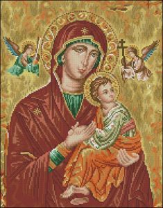 Icono Theotokos (икона Божией Матери Страстная)