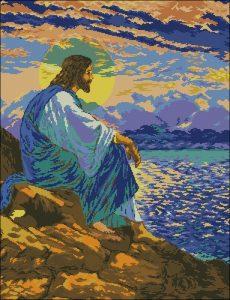 Иисус на берегу