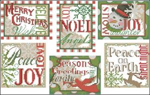 Christmas Sayings Ornaments
