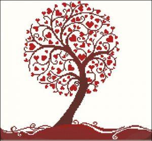 05095 heart tree