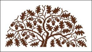 Дуб-дерево