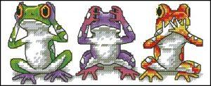 Tree Frog Trio