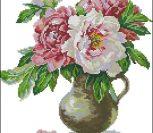 Цветущий сад. Пионы