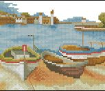 Fishing boats on the beach 2
