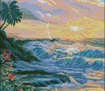 Рассвет н берегу моря