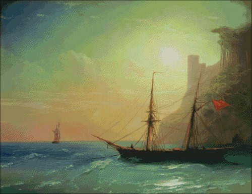 Берег моря (1861 - Айвазовский Иван Константинович)
