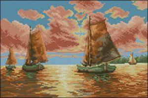 S. Sikora - Sailing boats