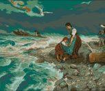 Шторм на море (Storm at sea)