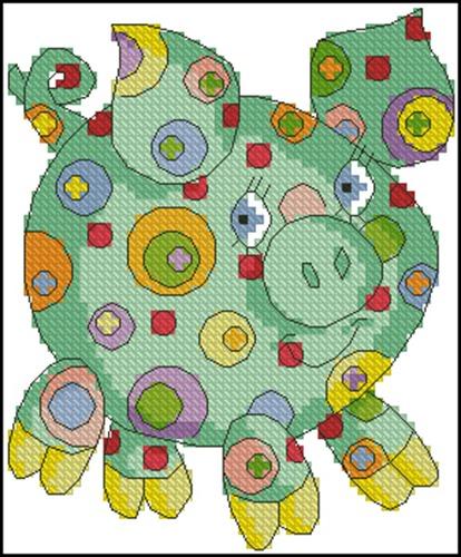 Радужная свинка