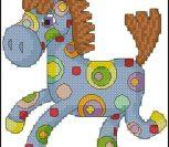 Радужная лошадка