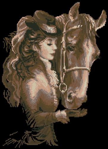 Дама с лошадью